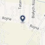 """Klinika Okulistyczna """"Jasne Błonia"""" na mapie"""