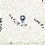 """NZOZ """"Na Kozłówce"""" na mapie"""