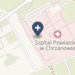 Szpital Powiatowy w Chrzanowie na mapie