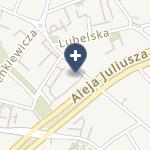 Centrum Medyczne Falck Kraków na mapie