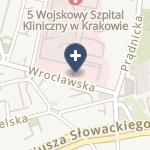 5 Wojskowy Szpital Kliniczny z Polikliniką SPZOZ na mapie