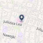 Szpital na mapie