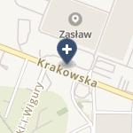 """NZOZ """"Visus"""" Oddział Andrychów na mapie"""
