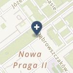 Samodzielny Zespół Publicznych Zakładów Lecznictwa Otwartego Warszawa Praga-Północ na mapie