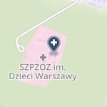"""Samodzielny Zespół Publicznych Zakładów Opieki Zdrowotnej im. """"Dzieci Warszawy"""" w Dziekanowie Leśnym na mapie"""