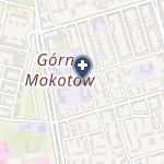 Centermed Warszawa na mapie