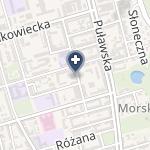Centralny Szpital Kliniczny MSW w Warszawie na mapie