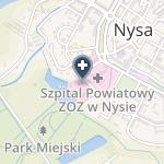 NZOZ Diaverum w Nysie na mapie