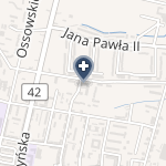 "Centrum Medyczne ""Plus"" Latusek-Michalski i Osmólski na mapie"