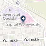 Szpital Wojewódzki w Opolu - SPZOZ na mapie