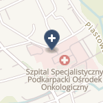 Szpital Specjalistyczny w Brzozowie Podkarpacki Ośrodek Onkologiczny im. Ks. B. Markiewicza na mapie