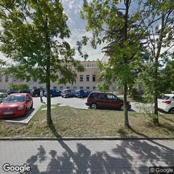 Widok z ulicy Wielospecjalistyczny Szpital -SPZOZ w Zgorzelcu
