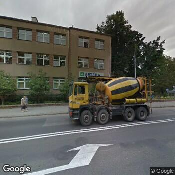 Widok z ulicy NZOZ Powiatowe Centrum Medyczne w Wołowie
