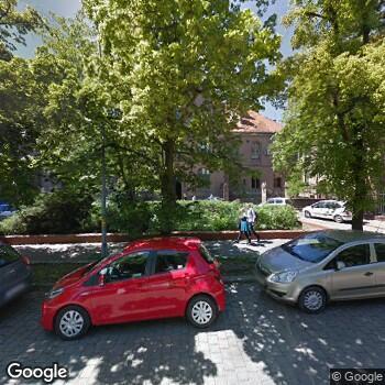 Widok z ulicy SPSK Nr 1 we Wrocławiu