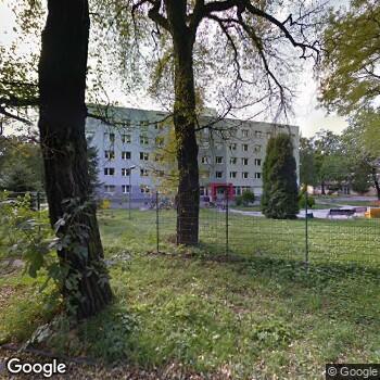 Widok z ulicy Citodent Centrum Stomatologiczne Furtak-Pobrotyn i S-Ka