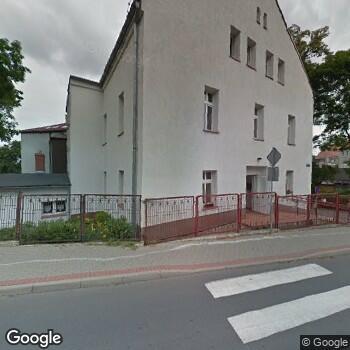 Widok z ulicy SPZOZ w Lubawce