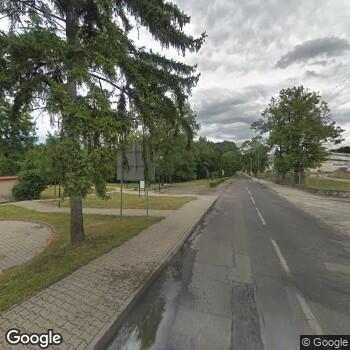 Widok z ulicy SPZOZ w Dobroszycach