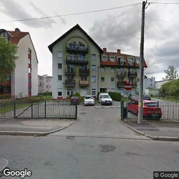 Widok z ulicy ISPL Dorota Wosiak Specjalista Chorób Oczu