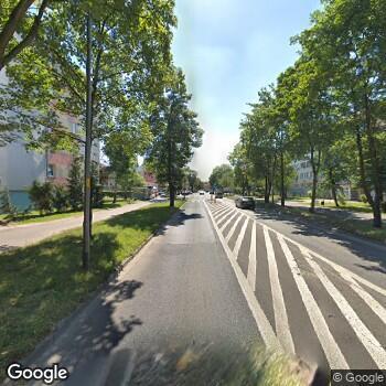 Widok z ulicy NZOZ Centrum Okulistyczne