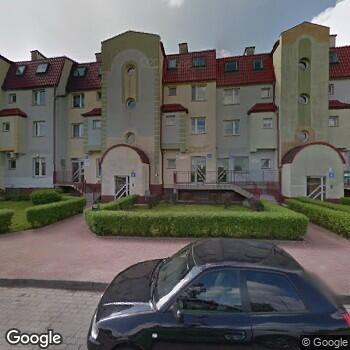 Widok z ulicy Prywatny Ośrodek Okulistyczny NZOZ w Legnicy