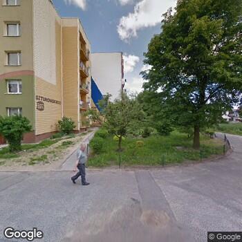 Widok z ulicy ISPL Henryk Wojtuściszyn