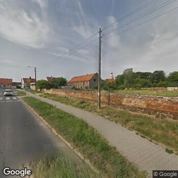Widok z ulicy Samodzielny Publiczny Zakład Ambulatoryjnej Opieki Zdrowotnej w Borowie