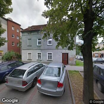 Widok z ulicy Gabinet Stomatologiczny Aleksandra Mecwaldowska