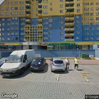 Widok z ulicy Euro-Dent Wojciech Pytlik