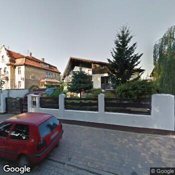 Widok z ulicy Prywatna Praktyka Stomatologiczna Aneta Borek