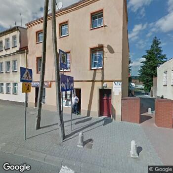Widok z ulicy Prywatna Praktyka Stomatologiczna Ewa Sas-Domaszewska