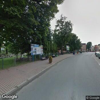 Widok z ulicy ISPL Gabinet Stomatologiczny Romana Dubrowska