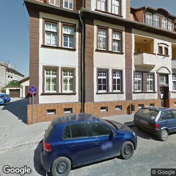 Widok z ulicy Gabinet Stomatologiczny Elżbieta Ligocka