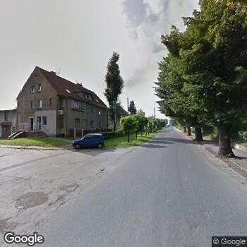 Widok z ulicy Gabinet Stomatologiczny Małgorzata Dzięgielewska