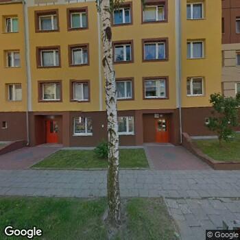 Widok z ulicy Prywatny Gabinet Stomatologiczny Jarosława Tomaszewska