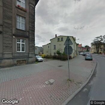 Widok z ulicy ISP Stomatologiczna Wiesława Matkowska