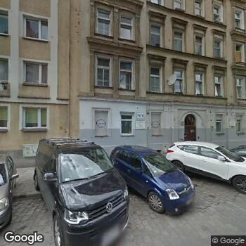 Widok z ulicy Praktyka Lekarza Rodzinnego N. Jadczak, T. Kubicki