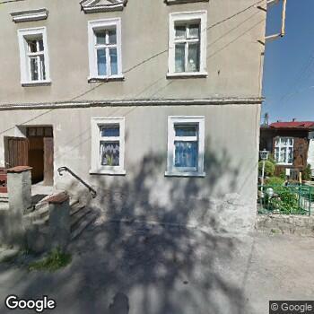 Widok z ulicy SPZOZ we Wleniu