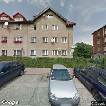 Widok z ulicy Gabinet Stomatologiczny Małgorzata Pawłowska