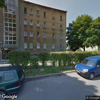 Widok z ulicy Medycyna Specjalistyczna - NSZOZ