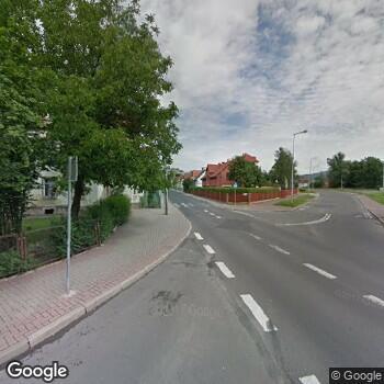 Widok z ulicy IPP Rodzinnej Elżbieta Dąbrowska