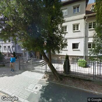Widok z ulicy ISP Pielęgniarka Środowiskowa-Rodzinna Bożena Straus-Roziel