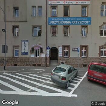 """Widok z ulicy Centrum Medyczne """"Betamed"""""""