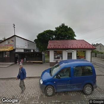Widok z ulicy Prywatna Praktyka Stomatologiczna Cezary Węgrzyn