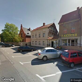 Widok z ulicy NZOZ Szpital Powiatowy w Dzierżoniowie