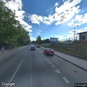 Widok z ulicy ISP Położnej Ewa Rutkowska