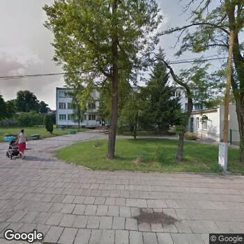 Widok z ulicy Ośrodek Medycyny Paliatywnej i Hospicyjnej Będkowo