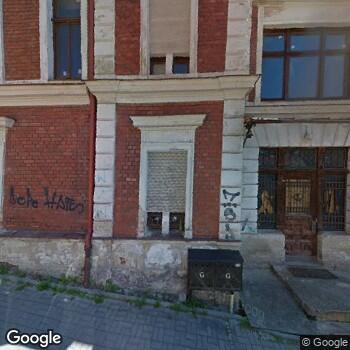 """Widok z ulicy NZOZ """"Oko-Centrum"""""""