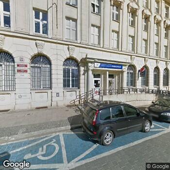 Widok z ulicy Pogotowie Ratunkowe we Wrocławiu