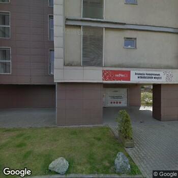 Widok z ulicy POZ Pregna Wrocław