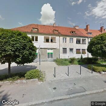 Widok z ulicy Poradnia Stomatologiczna Badent